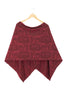 Bamboo Button Wrap - Bordeaux Modern