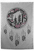 Spirit Blanket - Great Bear Rainforest - Grey with Shell Buttons