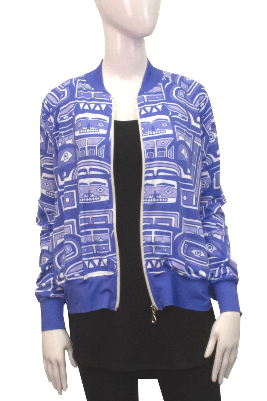 Bomber Jacket - Iris Chilkat