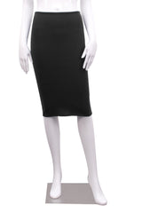 Bamboo Peg Skirt - Black