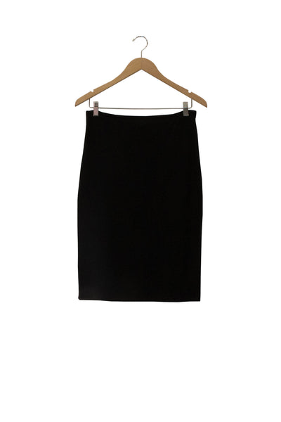 black bamboo fleece peg skirt
