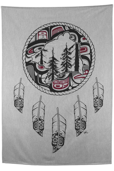 Spirit Blanket - Great Bear Rainforest - Grey