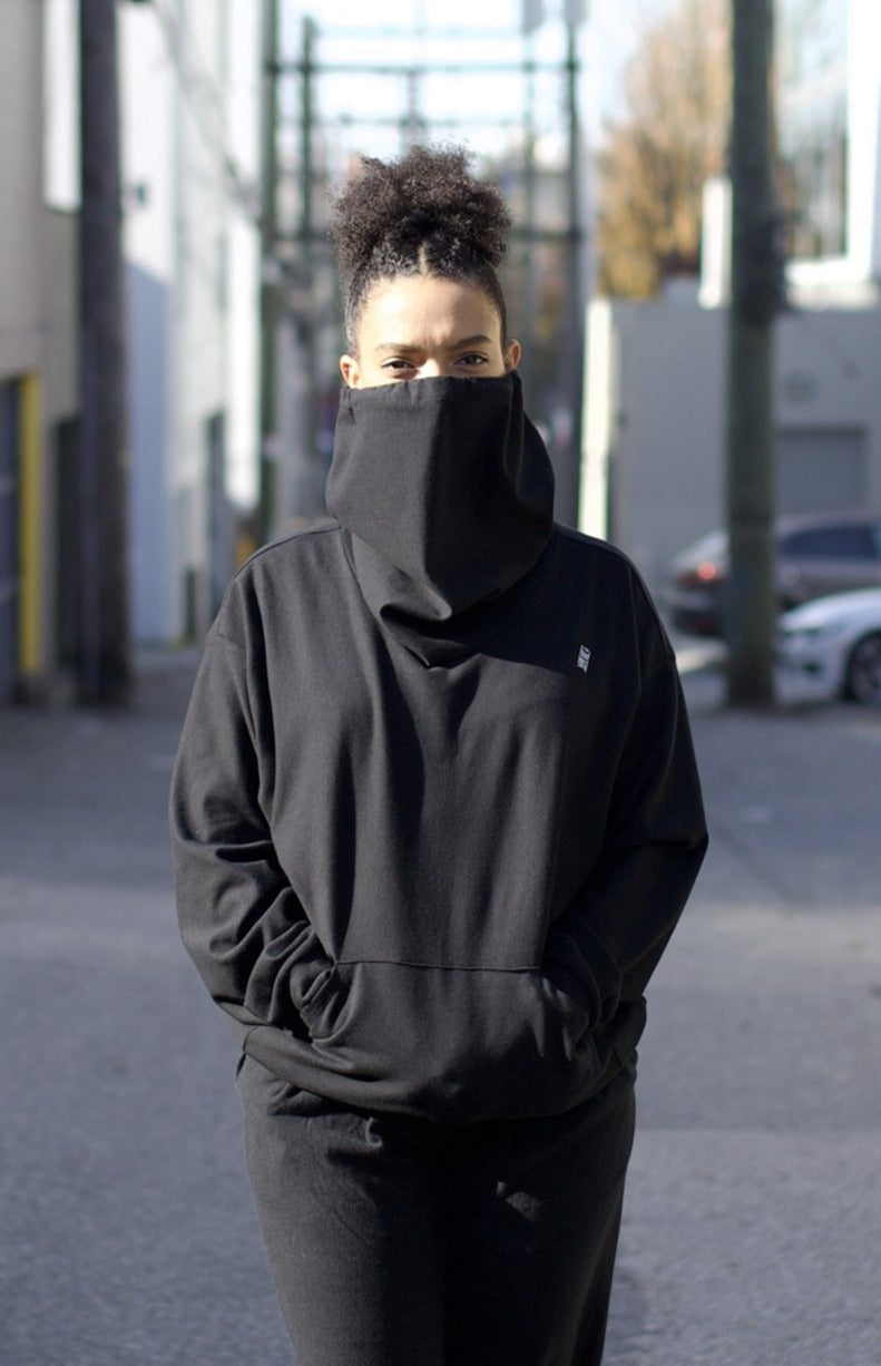 Gaiter Sweatshirt - Black