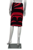 Haida Peg Skirt - Black/Red