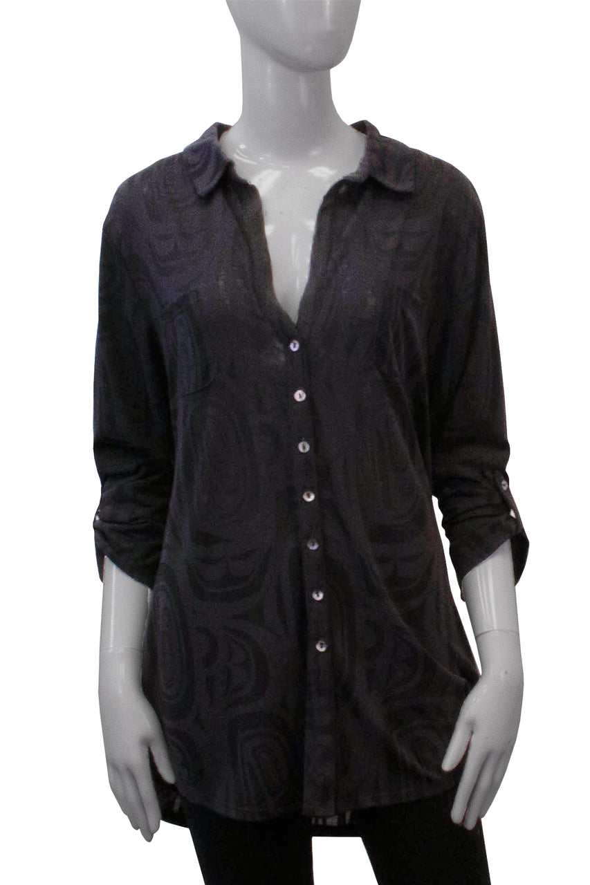 Boyfriend Shirt - Shadow Modern