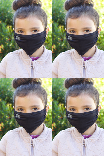 Kids Chitosante Mask Set - Black