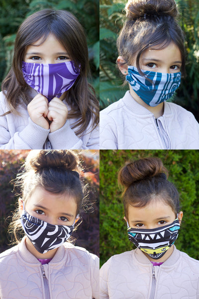 Kids Chitosante Mask Set - Prints