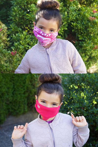 Kids Mask Set - Pink