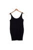 Long Tank Top - Black