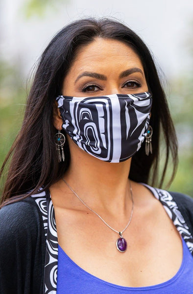 Chitosante Mask - Black/White Modern