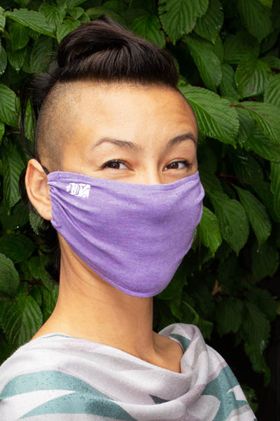 Bamboo Mask - Mussel