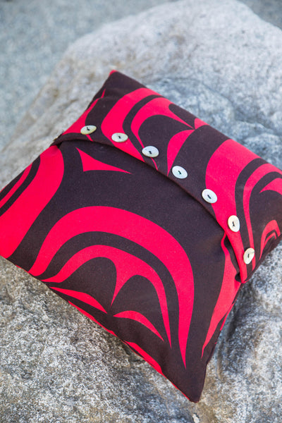 "Pillow Cover 16"" X 16"" - Modern - Red"