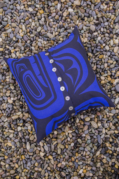 "Pillow Cover 16"" X 16"" - Modern - Pacific"
