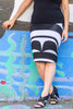 Haida Peg Skirt - Black/White