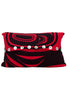 "Pillow Cover 12"" x 20"" - Modern - Red"