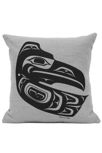 "Pillow Cover 16"" X 16"" - Raven - Grey"