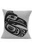 "Pillow Cover 20"" x 20"" - Raven - Grey"
