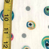 Silk Voile Fabric - Multi Roe