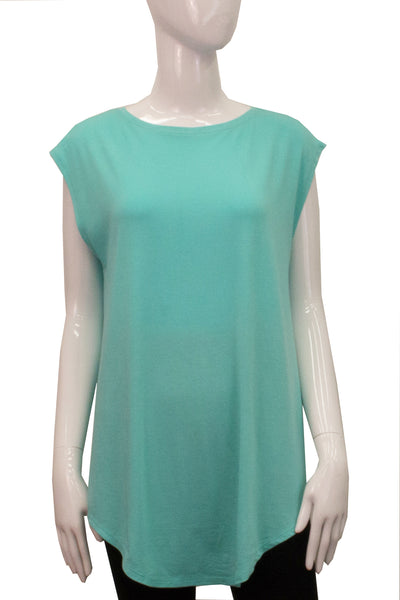 Sleeveless Shirttail - Clover