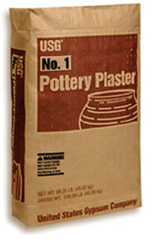 USG#1 Pottery Plaster | High Strength 20 Plaster