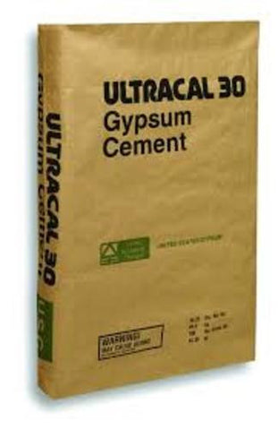Ultracal 30 Plaster USG For Mold Casting, Scenery, Dioramas and Dentistry