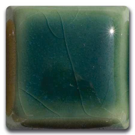 MS-4-L  Forest Green Liquid Glaze Laguna Moroccan Sand