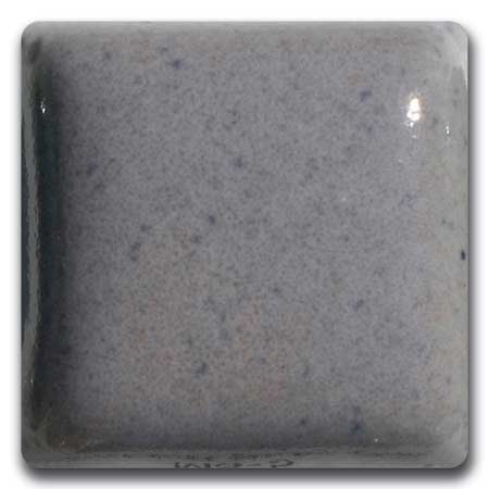 MS-5-L  Speckled Blue Gray Liquid Glaze Laguna Moroccan Sand