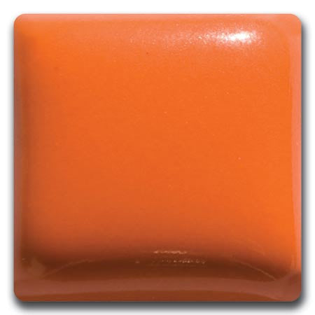 MS-97-L  Mandarin Orange Liquid Glaze Laguna Moroccan Sand