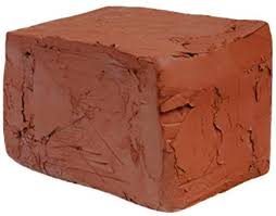Red Self-Hardening Modeling Clay | Dries Over Night | Kiln Not Needed | Non-Fire Clay | Toxic Free