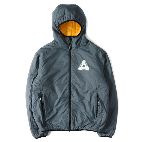 Palace Reversible Jacket Orange/grey
