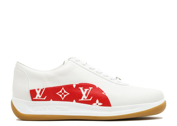 LV x Supreme White Monogram
