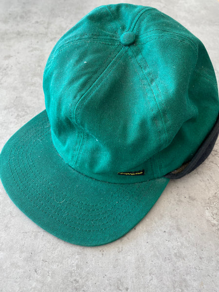 Supreme Fleece Green Cap