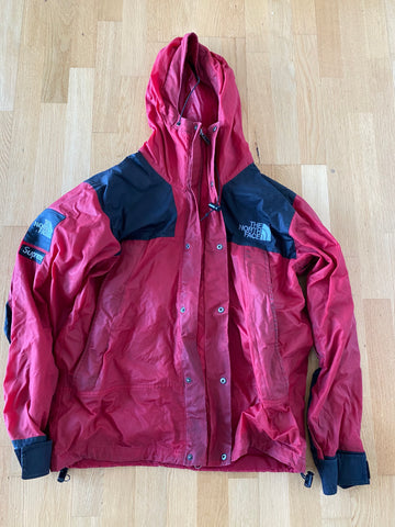 Supreme TNF Waxed Jakke