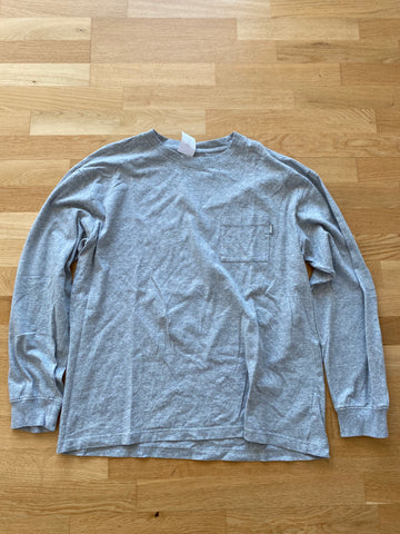 Palace Longsleeve Grey Pocket Tee