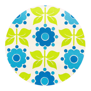 BRIGHT Funky RETRO Genuine Vintage Wallpaper By the METRE