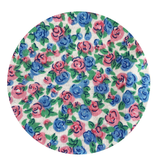 BEAUTIFUL Pretty Floral Fabric LARGE Craft PROJECTS