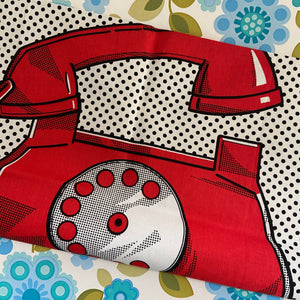 Great Tea Towel ZUCCHI Telephone UNUSED Wall Hanging Decorative