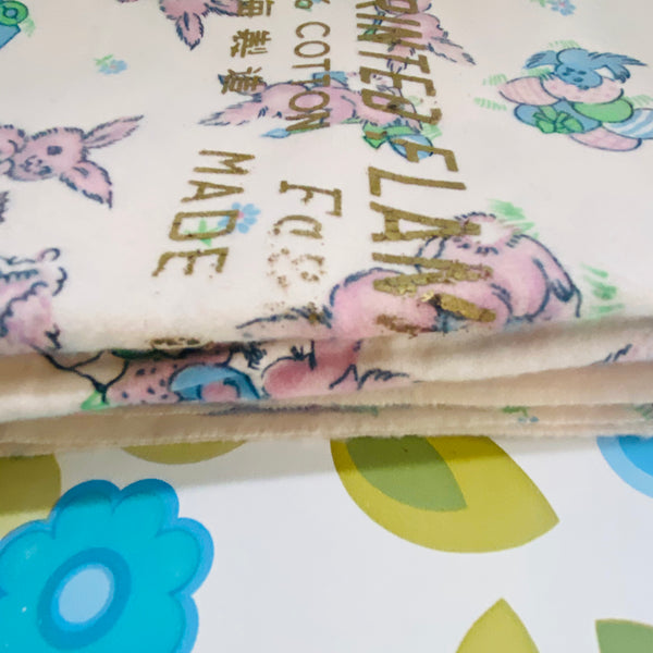 280cms Panda Novelty FABRIC 100% Cotton Vintage Sewing Craft