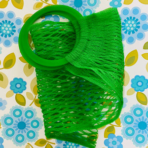 GreenMesh Market Bag RETRO Shopping Plastic Handle