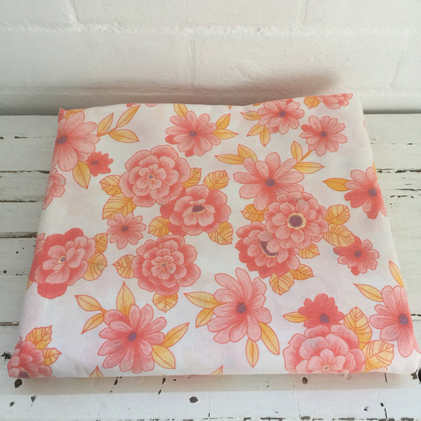 Beautiful Bright Cotton Sheet FABRIC Sewing Craft