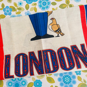 LONDON Collectable Tea Towel Unused Made in Ireland