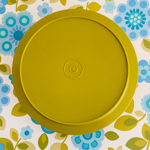 Large Tupperware GREEN Retro Kitchen Storage Container