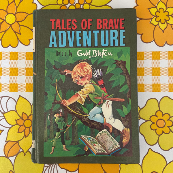 ENID BLYTON Tales of Brave 1963 Collectable