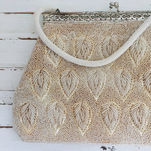 BEAUTIFUL Vintage Beaded Handbag Wedding Special Occassion