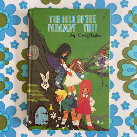 The FOLK of the FARAWAY Tree Enid Blyton RETRO Children's BOOK