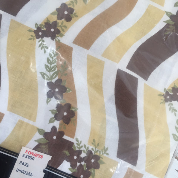 NILE Sheets All COTTON Fabric 160 x 254  x ONE SHEET ONLY