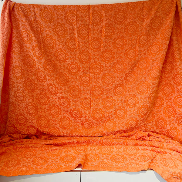 HUGE ORIGINAL Canvas PAINTING POP ART Modern Girl 70's Mid Century FEEL