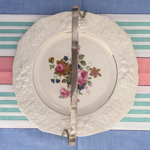 Beautiful Vintage CAKE Plate Dinner Party Afternoon Tea Falcon Ware