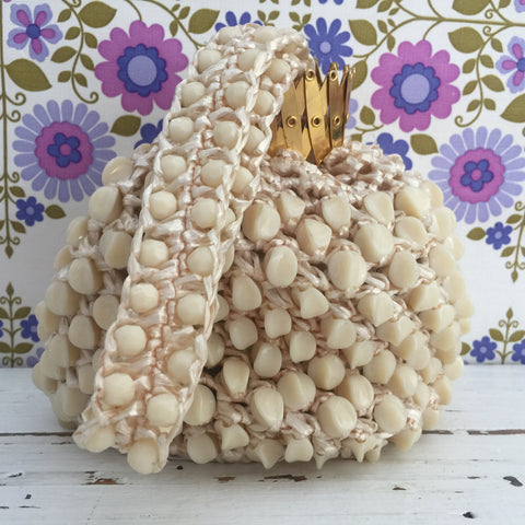 Vintage Shell Handbag Charming Cocktail Evening Bag