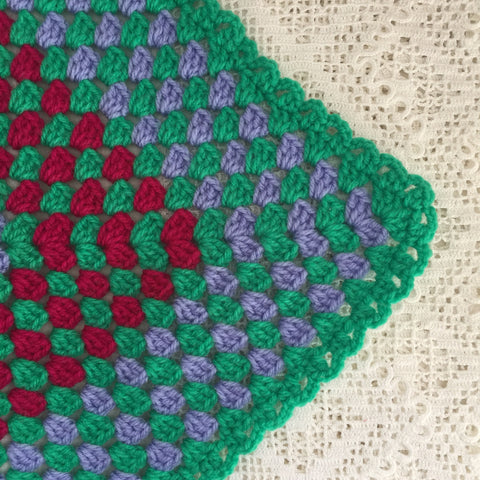 New Handmade Crochet Cot or Lap Blanket
